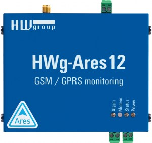 HWg-Ares12 : GSM θερμόμετρο με E-mail και SMS alerts
